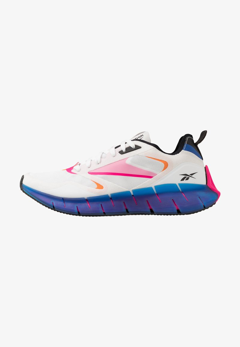 Reebok Classic - ZIG KINETICA HORIZON - Sneakersy niskie - white/vector blue/proud pink
