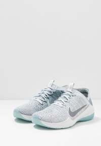 Nike Performance - AIR ZOOM FEARLESS FK 2 - Scarpe da fitness - ocean cube/metallic cool grey/aviator grey