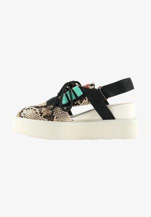 MIKU SPORT  - Wedge sandals - viper