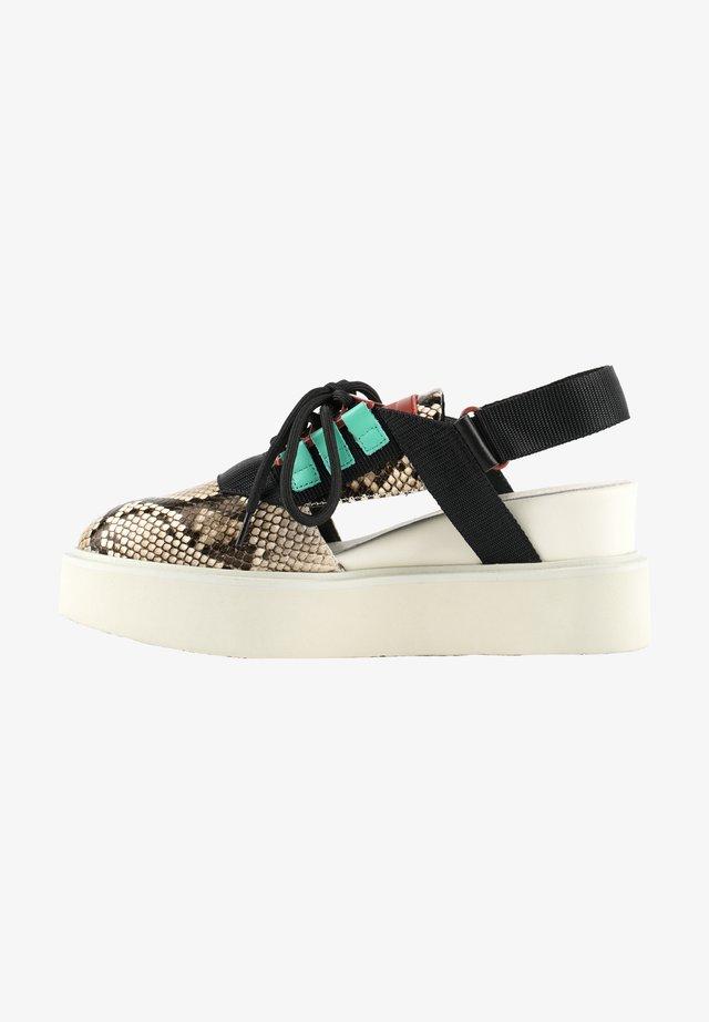 MIKU SPORT  - Sandalen met sleehak - viper