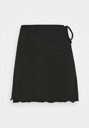 POLLINO SKIRT - Minigonna - black