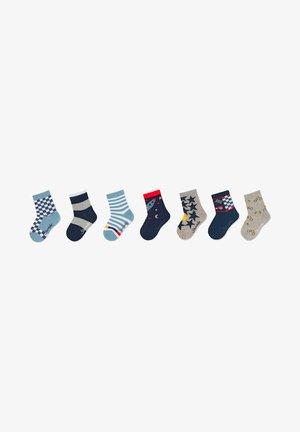 SOCKEN 7ER-PACK RAKETE - Socks - hellgrau melange