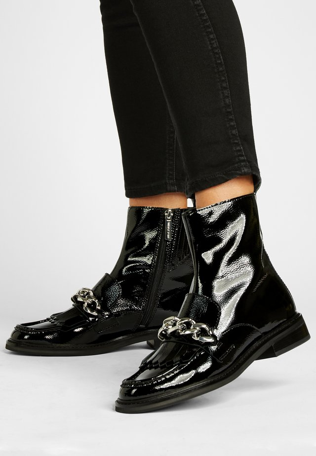 FRAN - Cowboy/biker ankle boot - schwarz