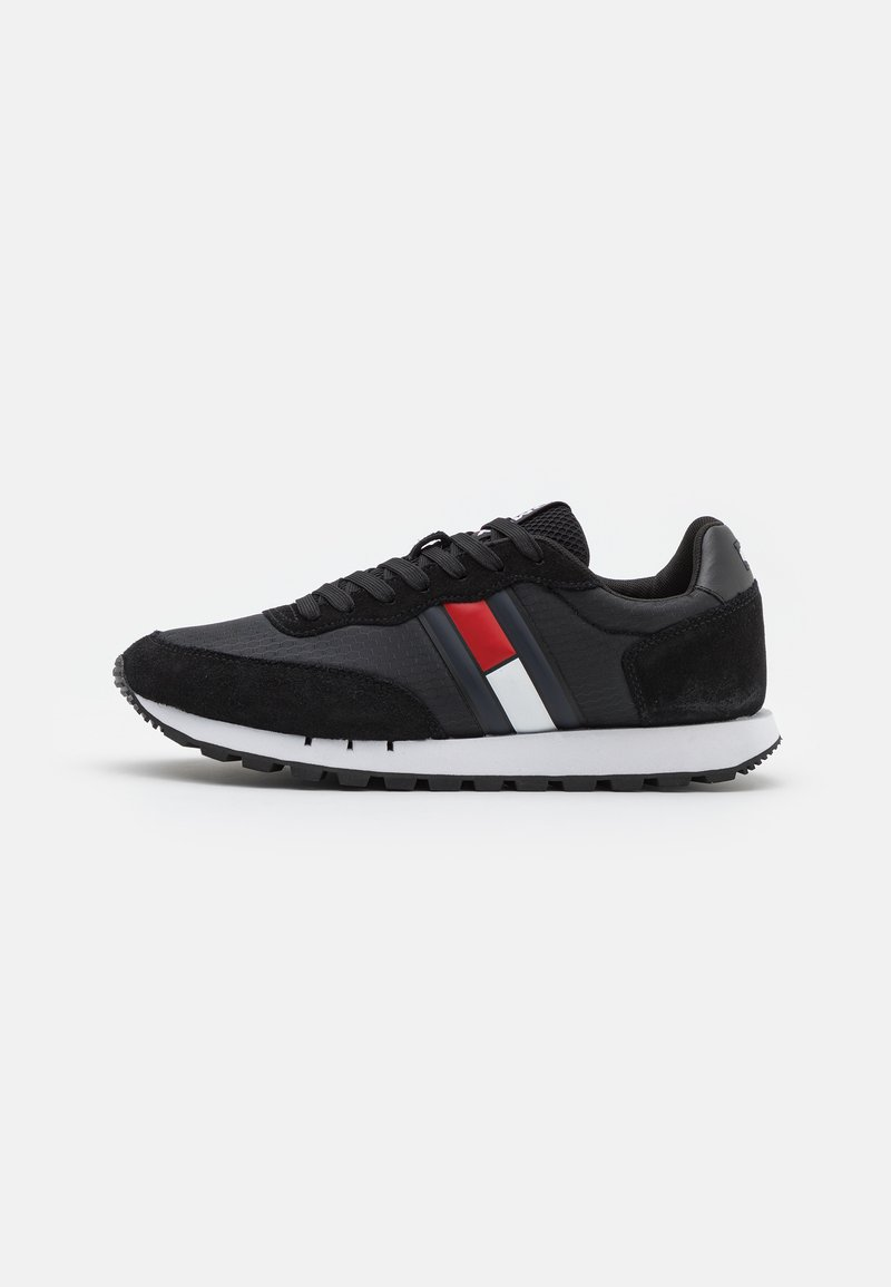 Tommy Jeans - RETRO RUNNER - Trainers - black