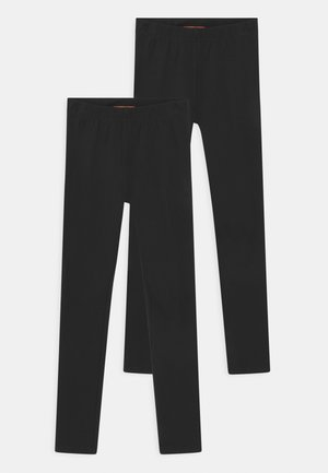 PACK 2 - Leggings - Trousers - black
