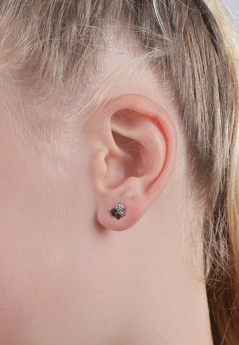 Lucardi - 14 CT GOLD - Earrings - goud