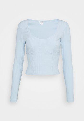 Long sleeved top - blue light