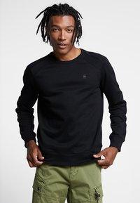 G-Star - MOTAC SLIM - Sweatshirt - dark black - 0