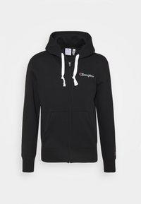 Champion Rochester - HOODED FULL ZIP - Zip-up sweatshirt - black - 0