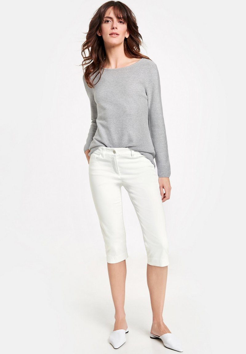 Gerry Weber - BEST - Denim shorts - white