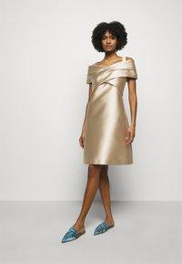 Alberta Ferretti - DRESS - Cocktail dress / Party dress - beige - 1