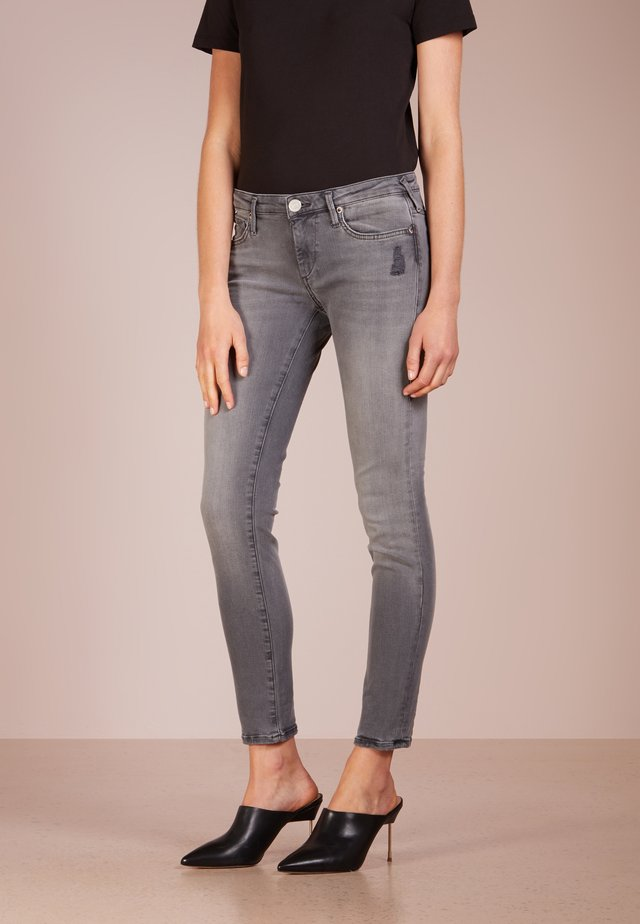 NEW HALLE SUPERSTRETCH - Jeans Skinny - grey denim