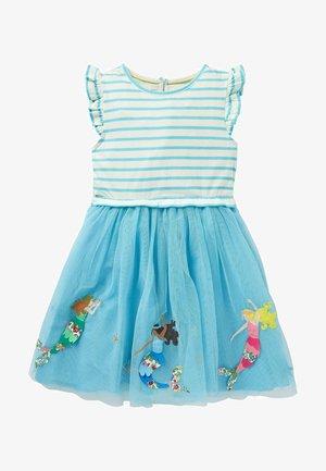 Day dress - meerblau, meerjungfrau