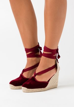 CATRI  - High heeled sandals - burdeos
