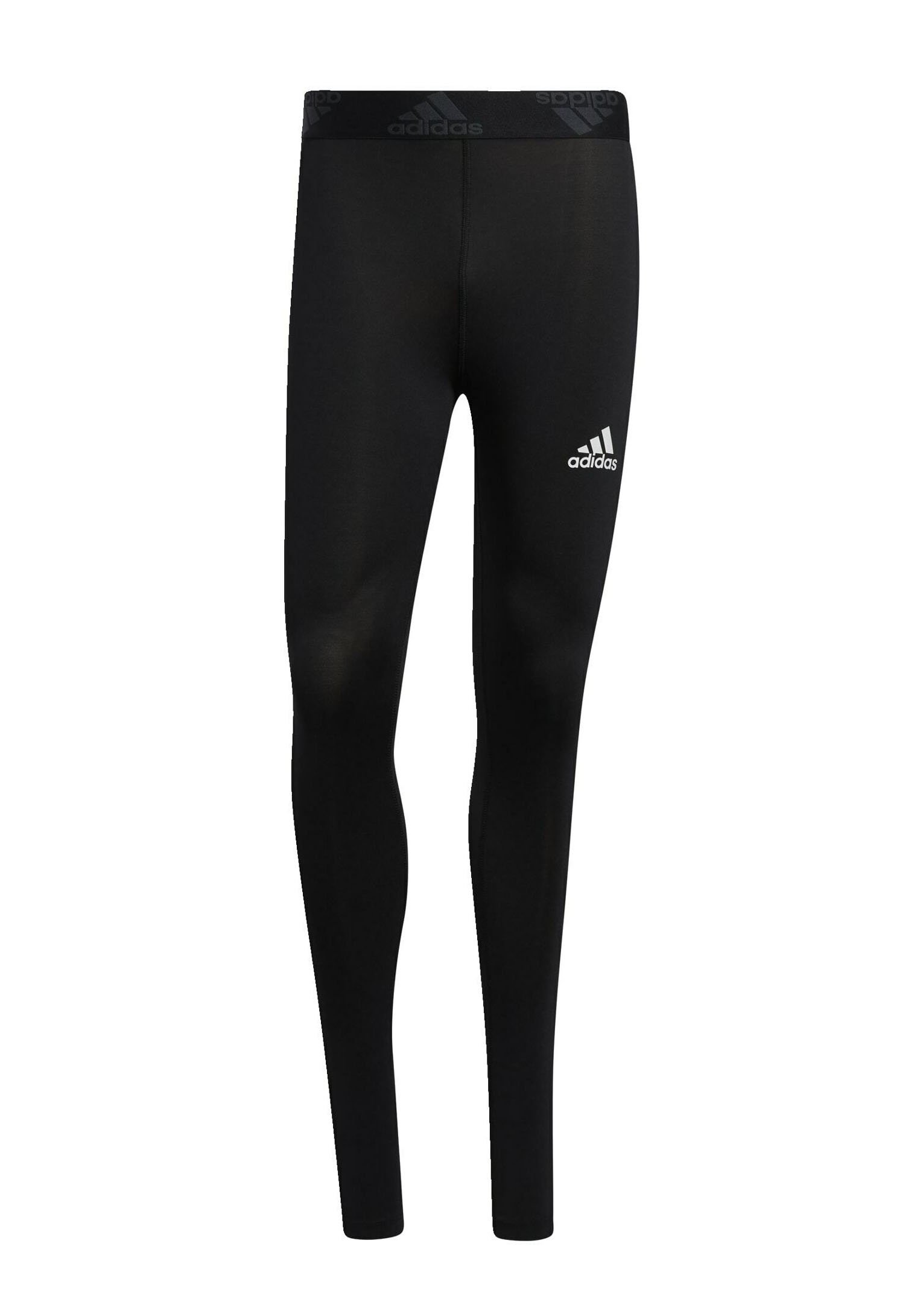 Homme TECHFIT 3-STRIPES LONG TIGHTS - Collants