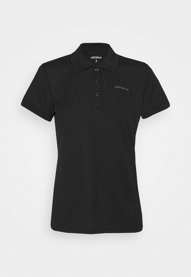 BAYARD - Poloshirt - black