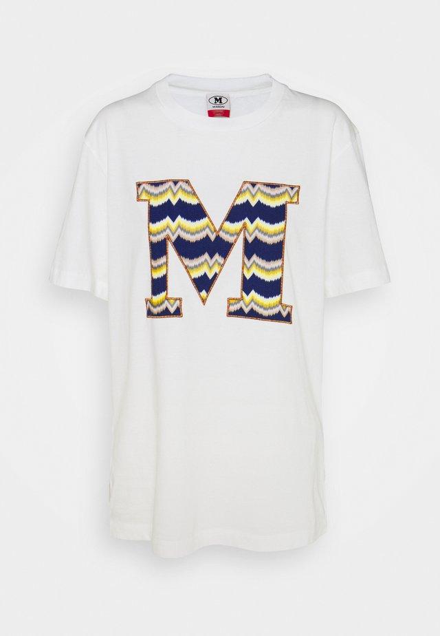 SHORT SLEEVE - Print T-shirt - marshmallow