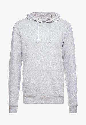 Luvtröja - mottled light grey