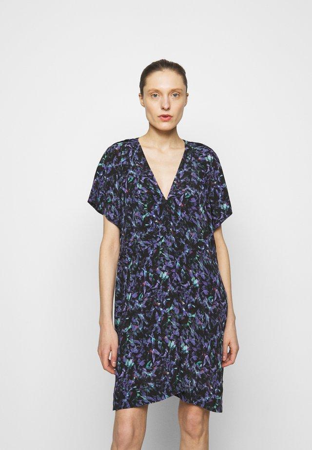 BAGO DRESS - Robe d'été - black/multicolored
