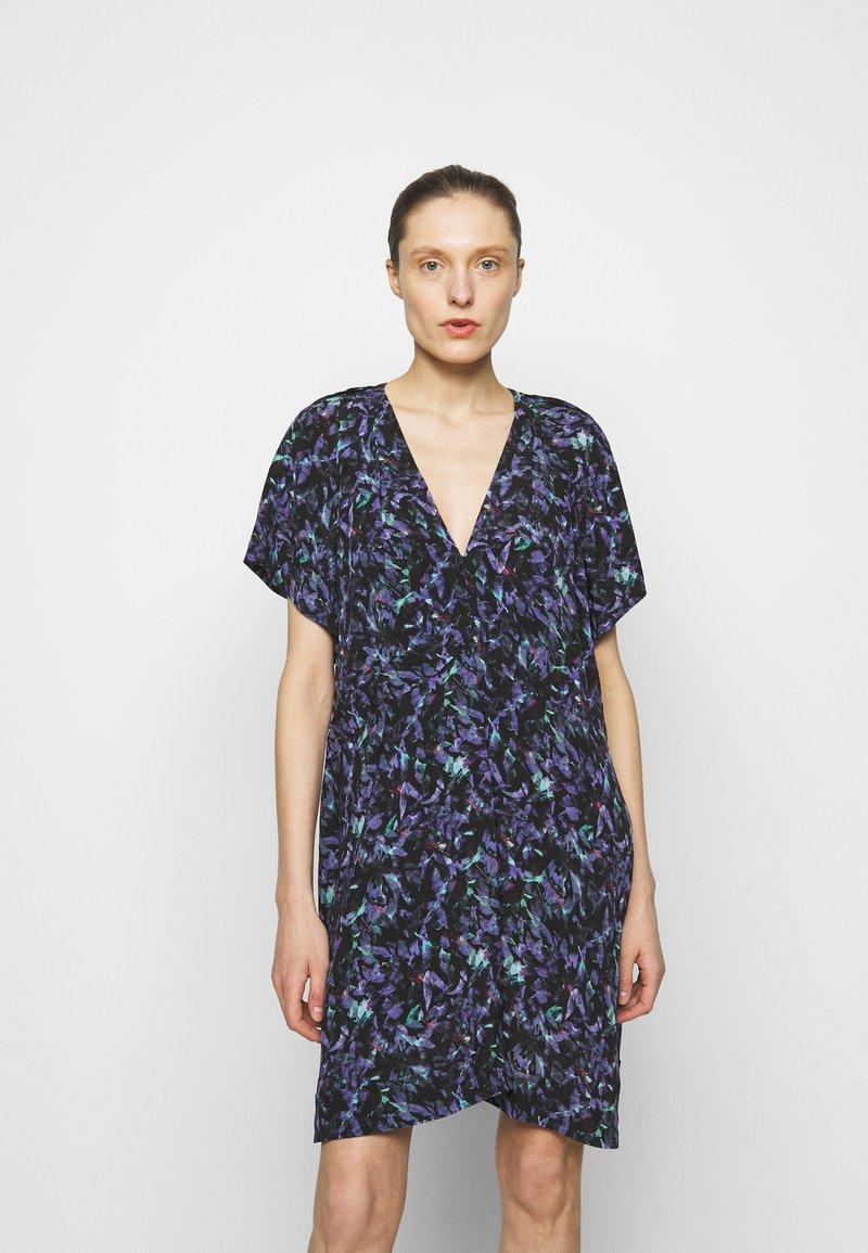 Iro - BAGO DRESS - Denní šaty - black/multicolored