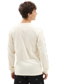 Vans - MN LOVE HATE LS - Long sleeved top - seedpearl - 1
