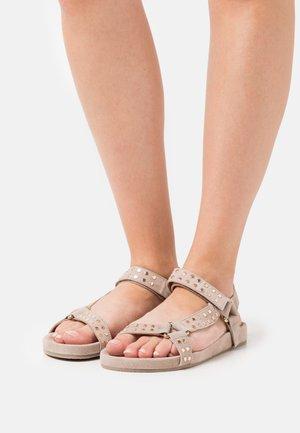SWEAT - Sandals - beige