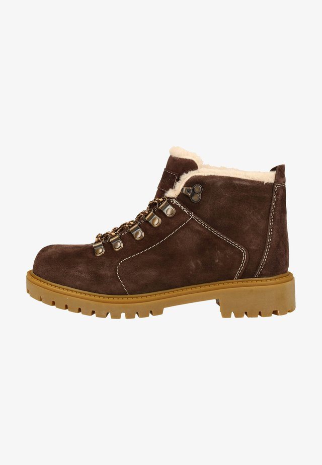 Winter boots - brown sut