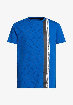 T-shirt con stampa - bright blue