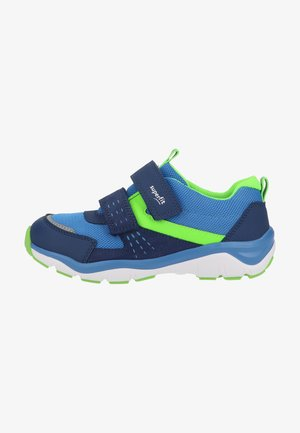 Trainers - blau grün