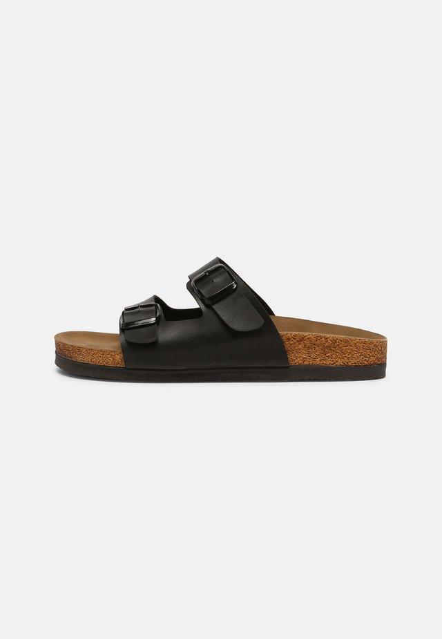 ROSE - Pantofle - black