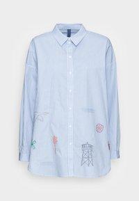 Résumé - GREY SHIRT - Button-down blouse - sky - 3