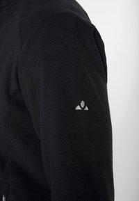 Vaude - MENS ROSEMOOR JACKET - Fleece jacket - black - 5