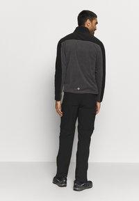 Regatta - FELLARD - Fleece jacket - magnet/black - 2