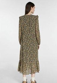 SET - Maxi dress - black green - 2