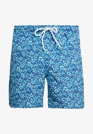 FLORAL SWIM SHORTS - Swimming shorts - navy