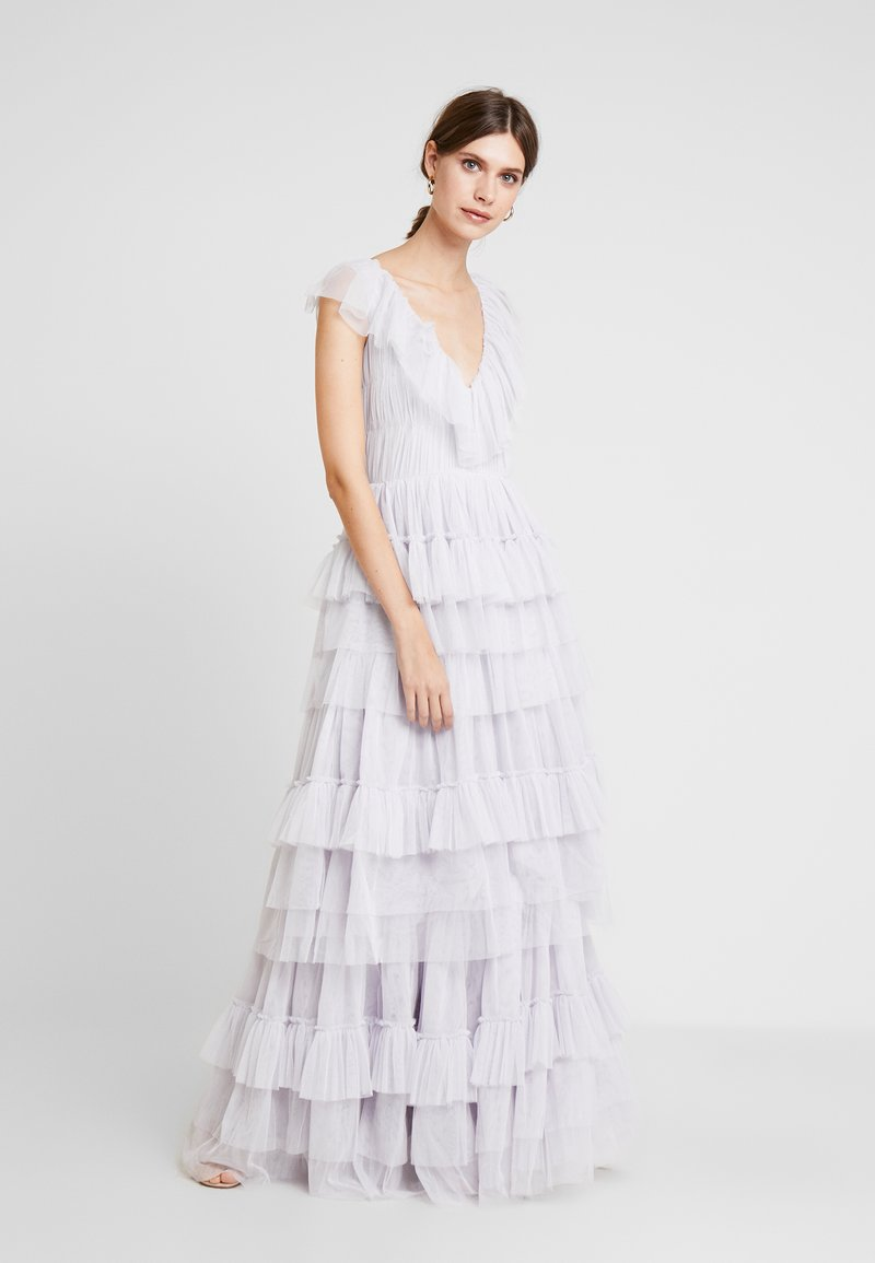 Lace & Beads - ALEXANDRA MAXI - Occasion wear - lilac
