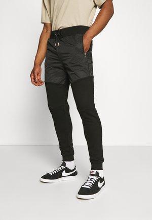 ABELLO JOGGER - Pantaloni sportivi - jet black