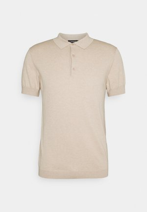 RIDGE  - Polo shirt - sand grey
