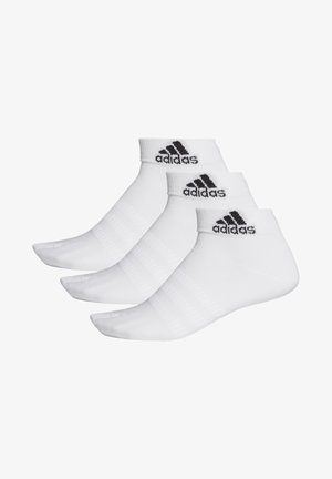 ANKLE SOCKS 3 PAIRS - Trainer socks - white