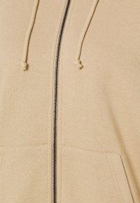 Even&Odd - Oversized Zip Through Sweat Jacket - Mikina na zip - mottled beige - 2