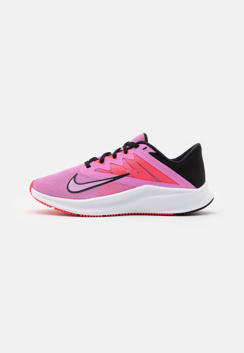 Nike Performance - QUEST 3 - Zapatillas de running neutras - beyond pink/black/flash crimson