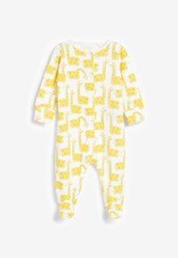 Next - 3 PACK CHARACTER RAINBOW  - Sleep suit - yellow - 3
