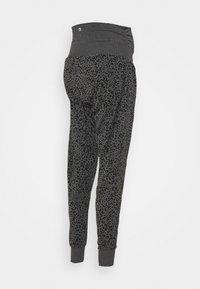 Cotton On Body - DROP CROTCH STUDIO PANT - Tracksuit bottoms - charcoal - 1