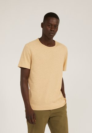 AANTONIO - T-shirt basic - dark sand