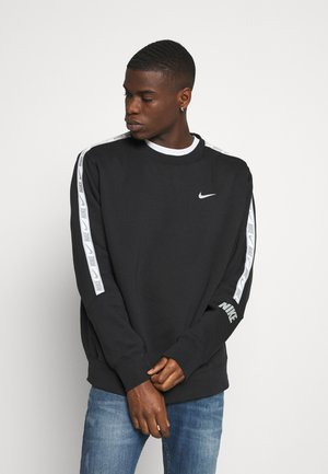 REPEAT CREW - Sweater - black/silver
