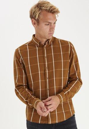 ANTON BD LS - Camicia - bronze brown