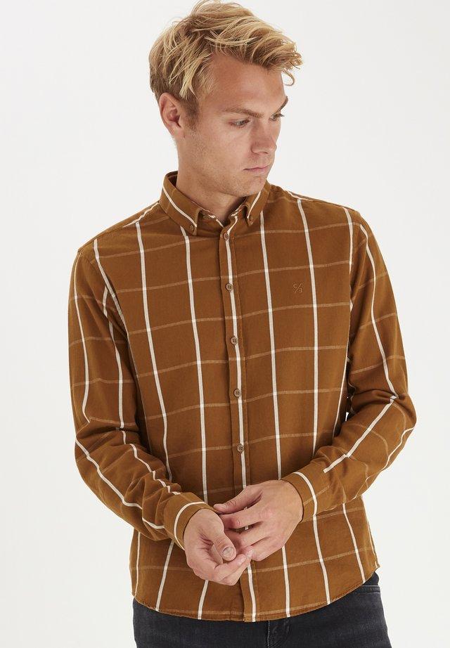 ANTON BD LS - Koszula - bronze brown
