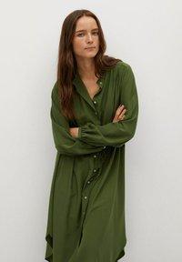 Mango - FARM - Shirt dress - green - 2