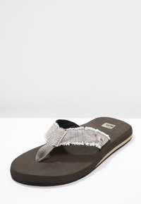 Quiksilver - MONKEY ABYSS - T-bar sandals - brown - 2