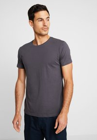Esprit - 2 PACK - Basic T-shirt - anthracite - 1